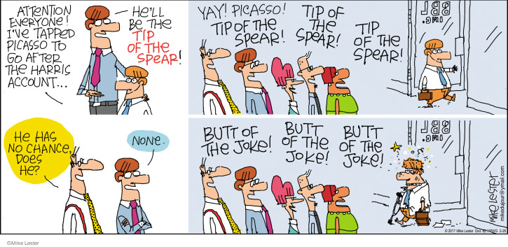 Comic Strip Mike Lester  Mike du Jour 2017-02-26 tip