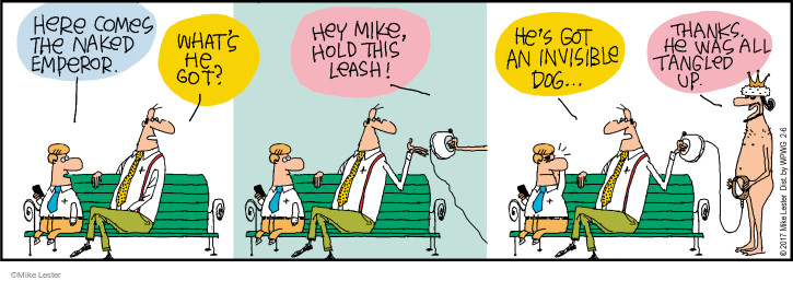 Comic Strip Mike Lester  Mike du Jour 2017-02-06 come