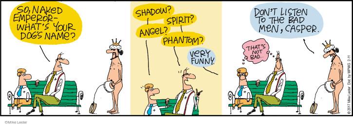 Comic Strip Mike Lester  Mike du Jour 2017-02-11 angel