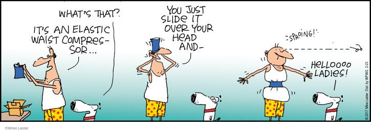 Comic Strip Mike Lester  Mike du Jour 2017-02-23 girdle