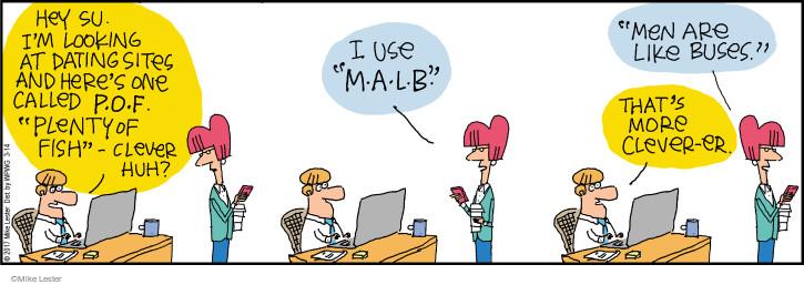 Comic Strip Mike Lester  Mike du Jour 2017-03-14 relationship