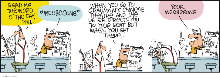 Comic Strip Mike Lester  Mike du Jour 2017-03-20 theater