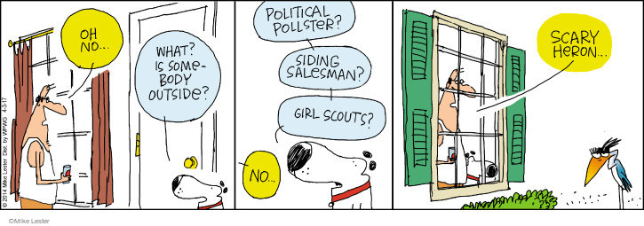 Comic Strip Mike Lester  Mike du Jour 2017-04-03 Girl Scout