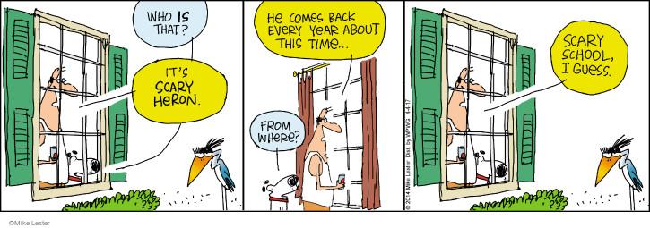 Comic Strip Mike Lester  Mike du Jour 2017-04-04 school
