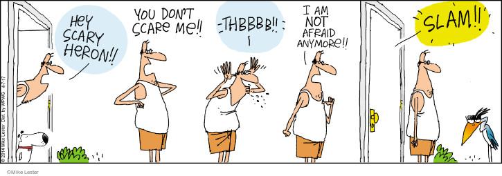 Cartoonist Mike Lester  Mike du Jour 2017-04-07 stuck
