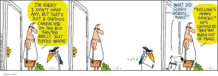 Cartoonist Mike Lester  Mike du Jour 2017-04-08 honey
