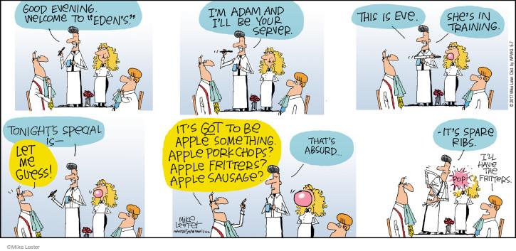 Cartoonist Mike Lester  Mike du Jour 2017-05-07 story
