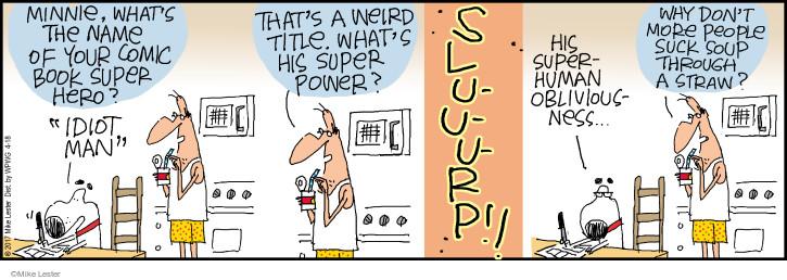 Comic Strip Mike Lester  Mike du Jour 2017-04-18 book
