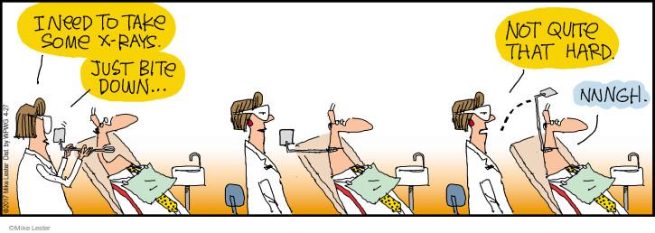 Cartoonist Mike Lester  Mike du Jour 2017-04-27 hard