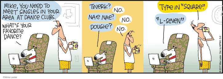 Cartoonist Mike Lester  Mike du Jour 2017-05-08 meet