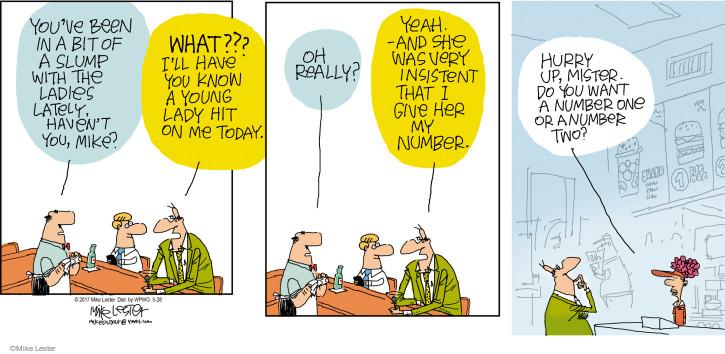 Comic Strip Mike Lester  Mike du Jour 2017-05-28 number