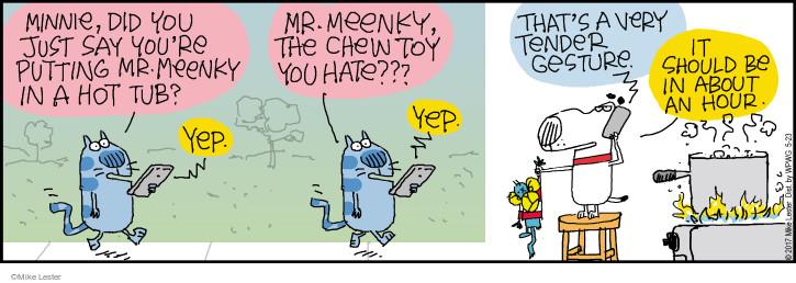 Comic Strip Mike Lester  Mike du Jour 2017-05-23 toy