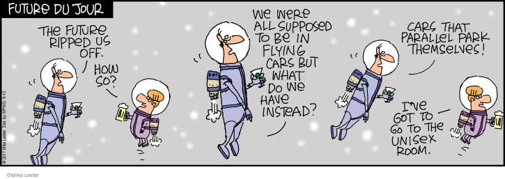 Cartoonist Mike Lester  Mike du Jour 2017-06-12 auto