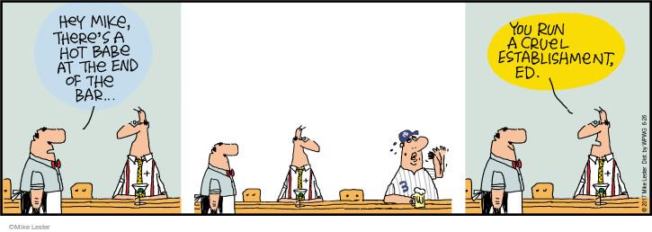 Comic Strip Mike Lester  Mike du Jour 2017-06-26 baseball