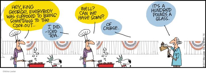 Comic Strip Mike Lester  Mike du Jour 2017-07-05 glass