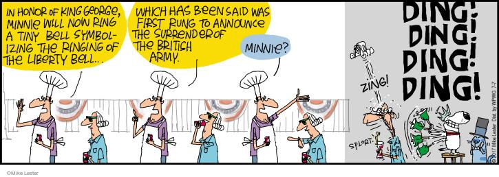 Cartoonist Mike Lester  Mike du Jour 2017-07-07 holiday