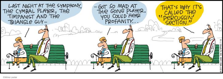 Comic Strip Mike Lester  Mike du Jour 2017-07-10 section