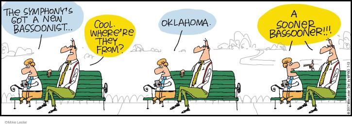 Cartoonist Mike Lester  Mike du Jour 2017-07-13 musician