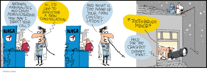 Comic Strip Mike Lester  Mike du Jour 2017-07-17 toothbrush