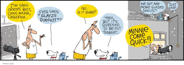 Cartoonist Mike Lester  Mike du Jour 2017-07-21 belt