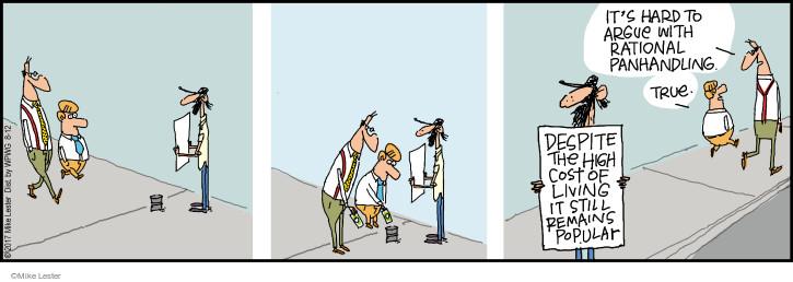 Cartoonist Mike Lester  Mike du Jour 2017-08-12 hard