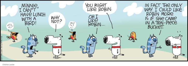 Comic Strip Mike Lester  Mike du Jour 2017-08-22 cat