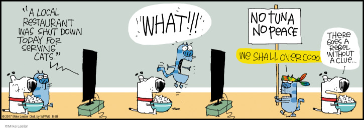 Comic Strip Mike Lester  Mike du Jour 2017-08-28 there