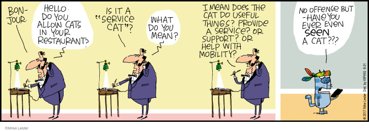 Comic Strip Mike Lester  Mike du Jour 2017-08-31 support