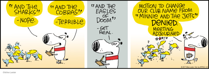 Comic Strip Mike Lester  Mike du Jour 2017-09-04 real