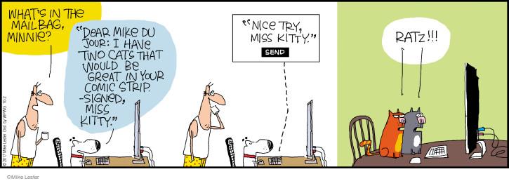 Comic Strip Mike Lester  Mike du Jour 2017-10-02 dear