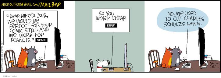 Comic Strip Mike Lester  Mike du Jour 2017-10-07 dear