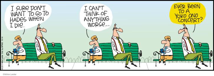 Cartoonist Mike Lester  Mike du Jour 2017-10-14 worse