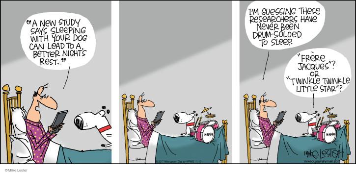 Cartoonist Mike Lester  Mike du Jour 2017-11-19 song