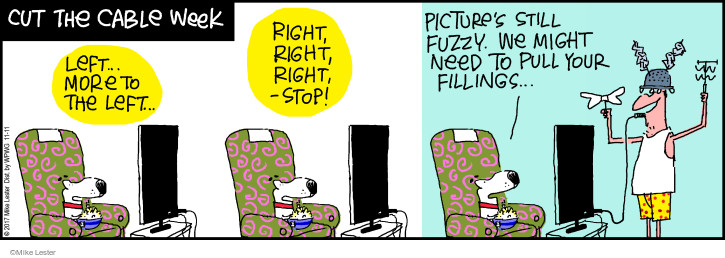 Cartoonist Mike Lester  Mike du Jour 2017-11-11 pull
