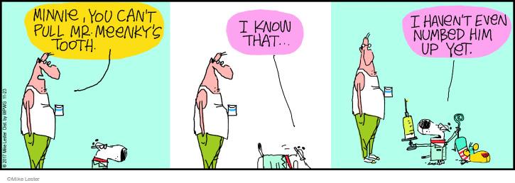 Cartoonist Mike Lester  Mike du Jour 2017-11-23 pull