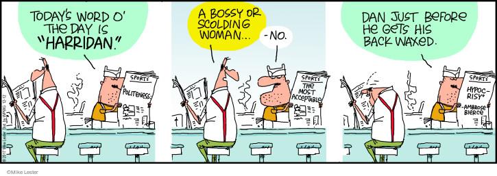 Comic Strip Mike Lester  Mike du Jour 2017-12-12 woman