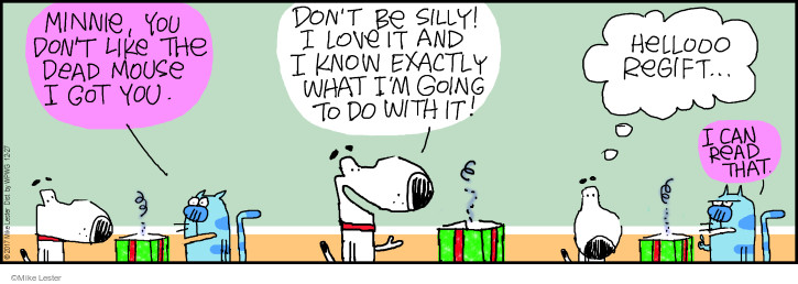 Comic Strip Mike Lester  Mike du Jour 2017-12-27 exactly