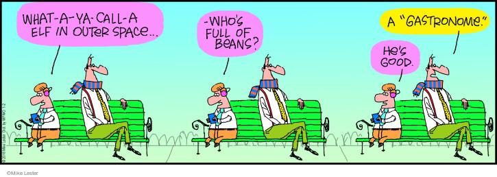 Comic Strip Mike Lester  Mike du Jour 2018-01-02 bean