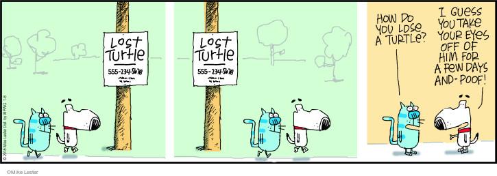 Comic Strip Mike Lester  Mike du Jour 2018-01-08 lose