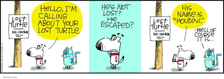 Comic Strip Mike Lester  Mike du Jour 2018-01-09 lose