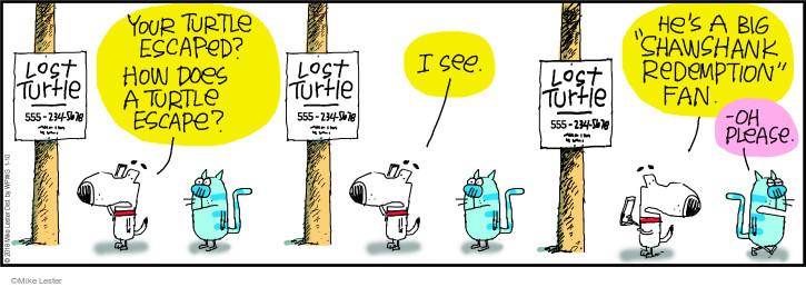 Cartoonist Mike Lester  Mike du Jour 2018-01-10 movie film