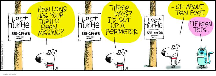 Comic Strip Mike Lester  Mike du Jour 2018-01-11 ten