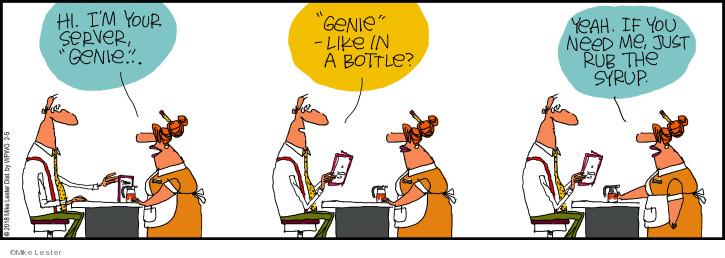 Comic Strip Mike Lester  Mike du Jour 2018-02-05 bottle