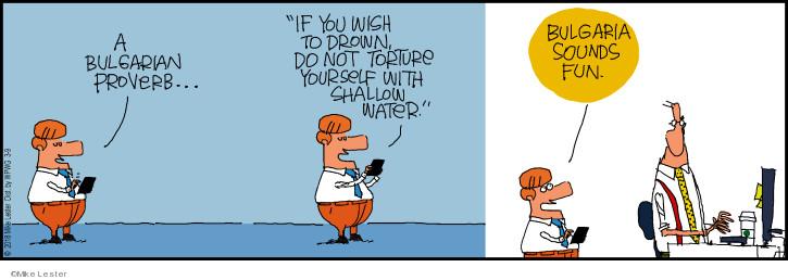 Cartoonist Mike Lester  Mike du Jour 2018-03-09 fun