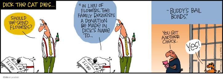 Cartoonist Mike Lester  Mike du Jour 2018-03-24 family