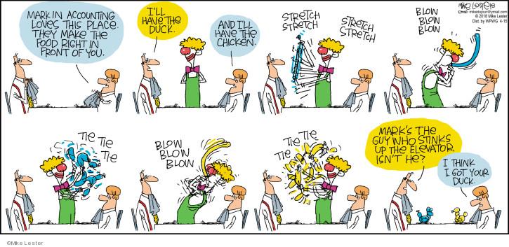 Comic Strip Mike Lester  Mike du Jour 2018-04-15 blow