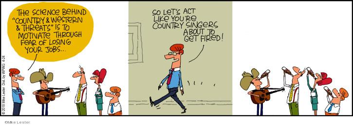Comic Strip Mike Lester  Mike du Jour 2018-04-24 science