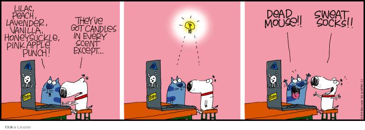 Cartoonist Mike Lester  Mike du Jour 2018-05-03 punch