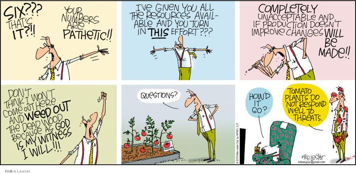 Cartoonist Mike Lester  Mike du Jour 2018-05-27 weed