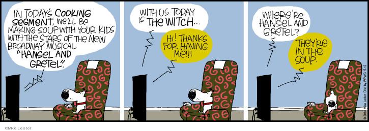Comic Strip Mike Lester  Mike du Jour 2018-05-12 Gretel